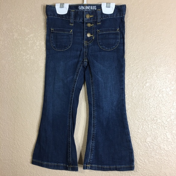 56999443 Genuine kids from Oshkosh high waisted flare jeans.  M_5c4d7a2ba5d7c6b97437ed87